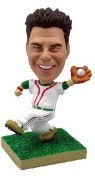 Baseball Catching Personalized Bobble Head (Bobbing )