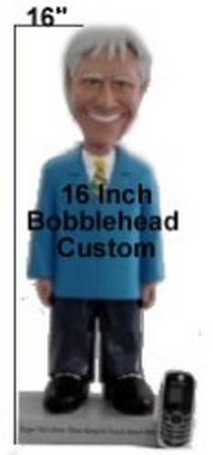 "Large 16"" Full Custom Bobble Head (Bobbing )"