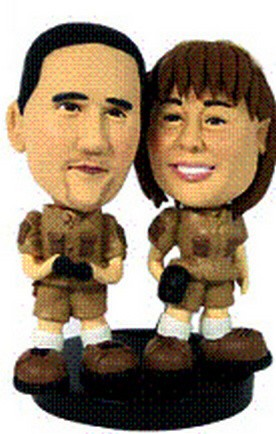 Ventures custom couple bobbleheads