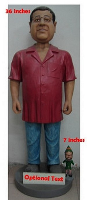 "Super Large 36"" Full custom bobblehead doll (bobbing doll)"