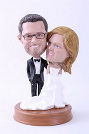 Wedding couple custom bobblehead doll Premium 3