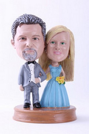 Wedding couple custom bobblehead doll 5 Premium