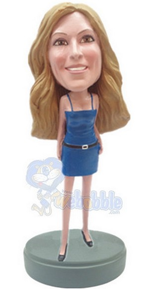 Custom Bobble Head Sexy Short Dress | Gifts For Women