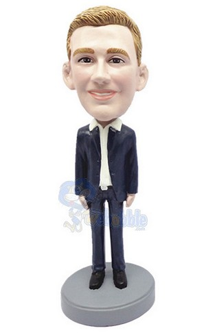 Casual Custom Bobble Head 39 | Gift Ideas For Men