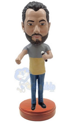 Singing Male Custom Bobble Head Premium 4 | Gift Ideas For Men