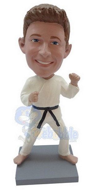 The Karate custom bobblehead doll 3 (bobbing doll)