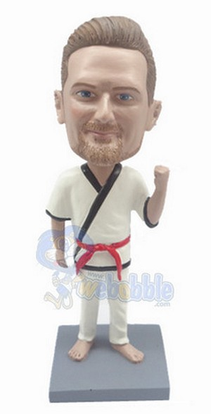 The Karate custom bobblehead doll 4