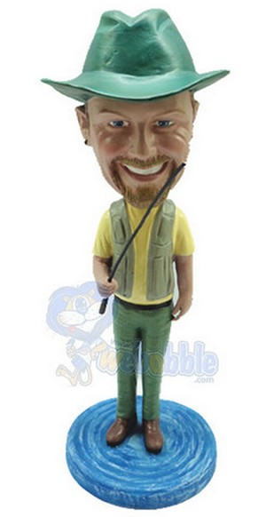 Man With Fish Custom Bobble Head 7 | Gift Ideas For Men