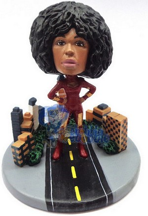 Custom Bobble Head Super Girl Takes The City Premium | Gifts For Women