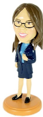 Custom Bobble Head Office Lady | Gifts For Women