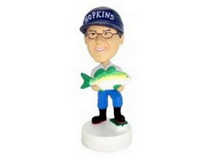 Man With Fish Custom Bobble Head | Gift Ideas For Men