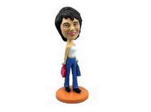 Custom Bobble Head Shopping Girl | Gifts For Women