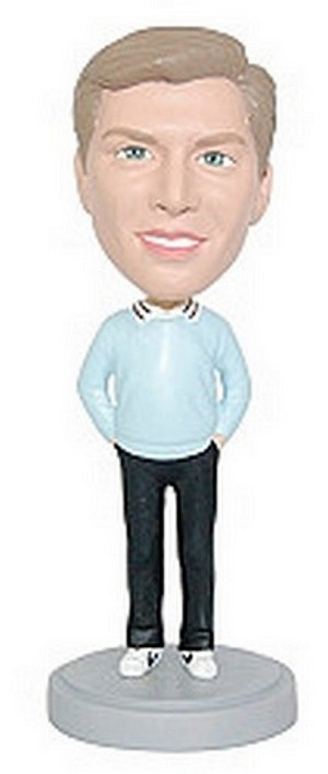 Casual 14 Custom Bobble Head | Gift Ideas For Men