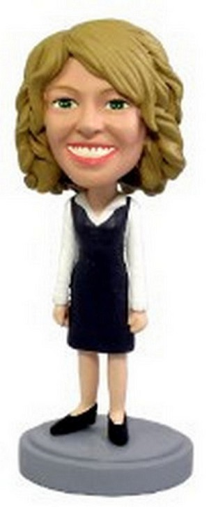 Custom Bobble Head Office Worker 3 | Gifts For Women