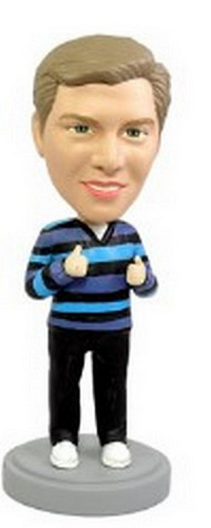 Thumbs Up custom bobblehead doll