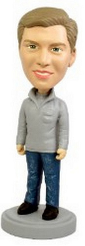 Cool and Casual custom bobblehead doll