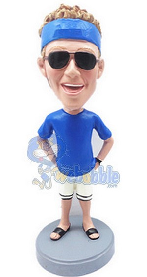 Man In Shorts Custom Bobble Head | Gift Ideas For Men
