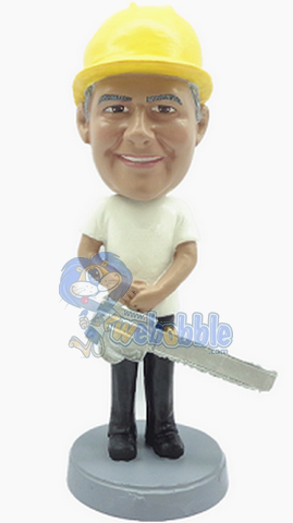 Chain Saw Male custom bobblehead doll