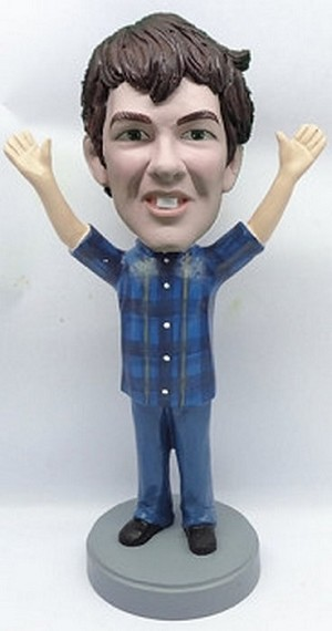 Male Hands Up Custom Bobble Head 5 | Gift Ideas For Men