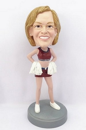 Cheerleader Custom Bobble Head 2 (Bobbing )