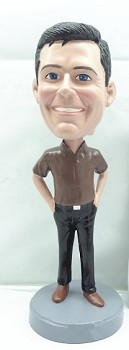 Hands In Pocket Custom Bobble Head 4 | Gift Ideas For Men