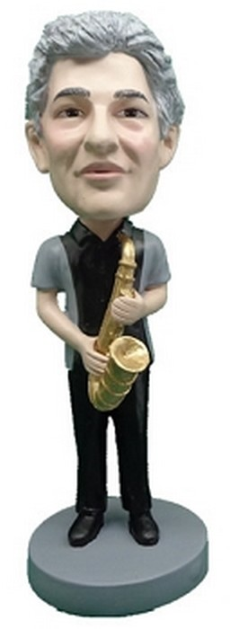 Saxophone Custom Bobble Head 2 | Gift Ideas For Men