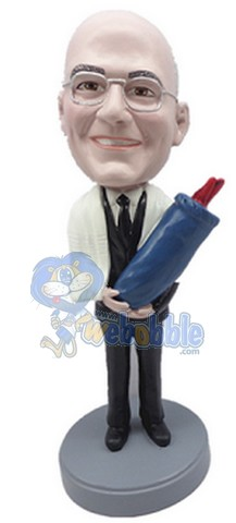 Rabbi / Bar Mitzvah custom bobblehead doll 2