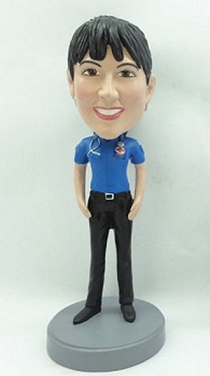 Custom Bobble Head Female Paramedic / Nurse / Doctor 2 | Gifts For Women