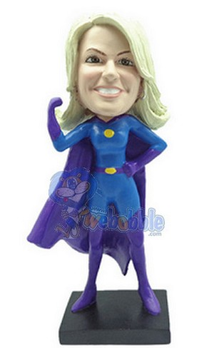 Super Girl custom bobblehead doll 2 Premium