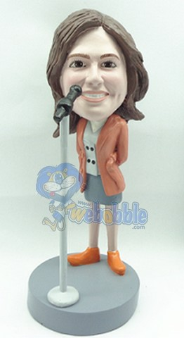 Showing Great Love personalized bobblehead doll