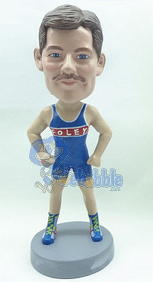 Runner Personalized Bobble Head (Male) 2 | Gift Ideas For Men