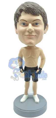The Karate MMA custom bobblehead doll