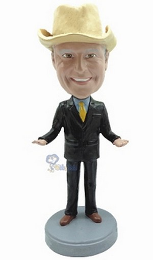 Executive in Suit custom bobblehead doll 5