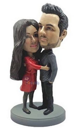 Happy Couple Custom Bobble Head 2 | Gift Ideas For Couples