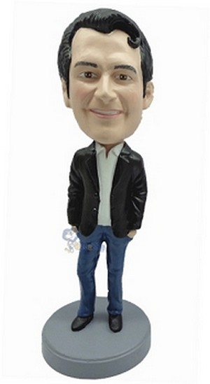 Casual Male In Jeans Custom Bobble Head 5 | Gift Ideas For Men