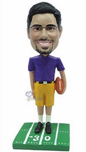 Football custom bobblehead doll 8
