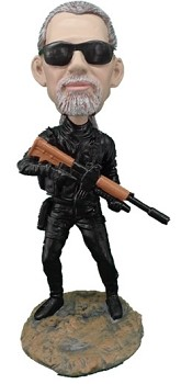 Police Man Personalized Bobble Head Swat | Gift Ideas For Men