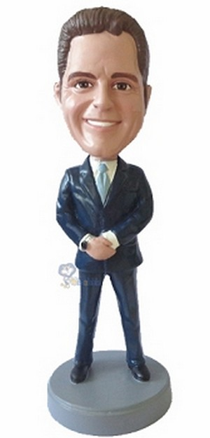 Executive in Suit custom bobblehead doll 6