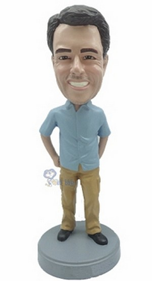 Casual Male Custom Bobble Head 7 | Gift Ideas For Men