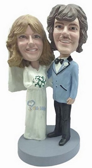 Wedding Couple Custom Bobble Head 10 | Gift Ideas For Couples