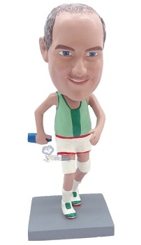 Runner Personalized Bobble Head (Male) 3 | Gift Ideas For Men