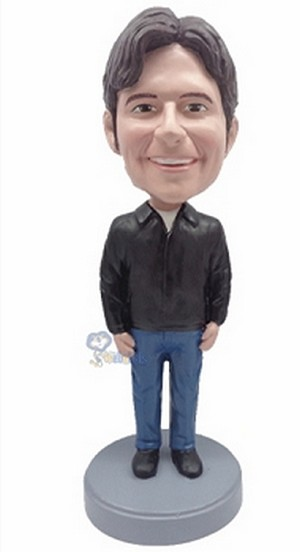 Casual Custom Bobble Head 9 | Gift Ideas For Men