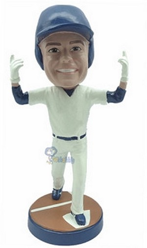 Baseball Home Run custom bobblehead