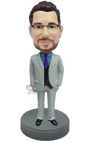 Executive in Suit custom bobblehead doll 9