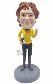 Star Trek Female custom bobblehead doll