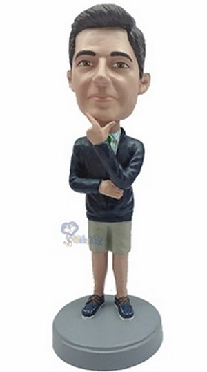 Man In Shorts Custom Bobble Head 5 | Gift Ideas For Men