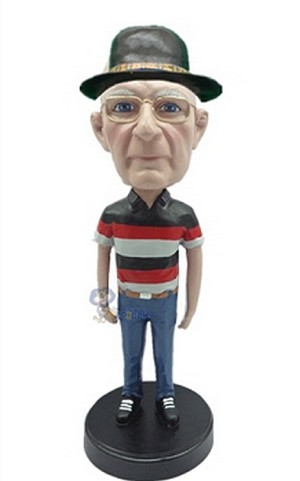 Casual custom bobblehead doll 13
