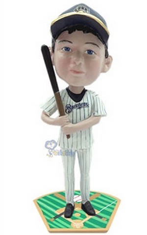 Baseball Batter custom bobblehead doll  2