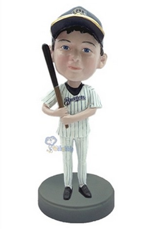Baseball Batter custom bobblehead doll  3