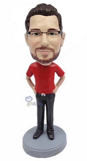 Casual Custom Bobble Head 17 | Gift Ideas For Men